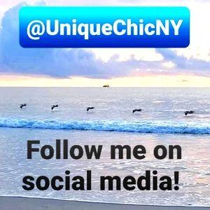 Follow me on Social Media! @UniqueChicNY